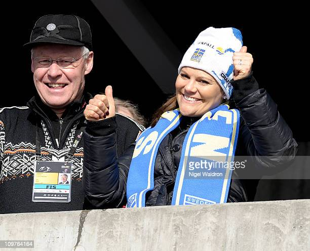 Princess Victoria of Sweden attends the FIS Nordic World Ski Championships 2011 at Holmenkollen on March 4 2011 in Oslo Norway