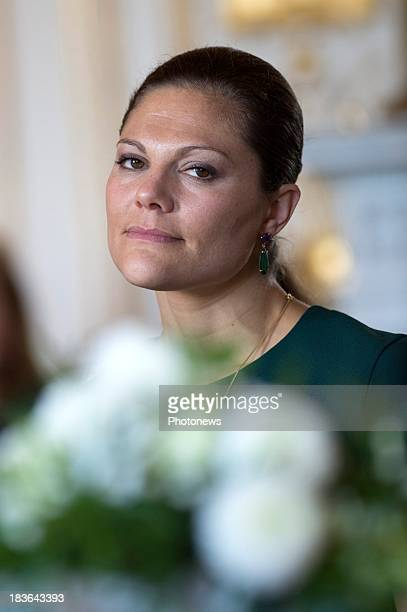 Princess Victoria of Sweden attends the fourth meeting of Honorary Board of the International Paralympic Commitee hosted by Princess Astrid of...