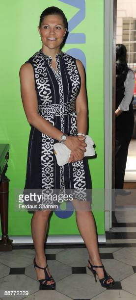 Princess Victoria of Sweden attends the opening of seminar 'A New Green World' at Swedish Ambassador�s Residence on July 1 2009 in London England