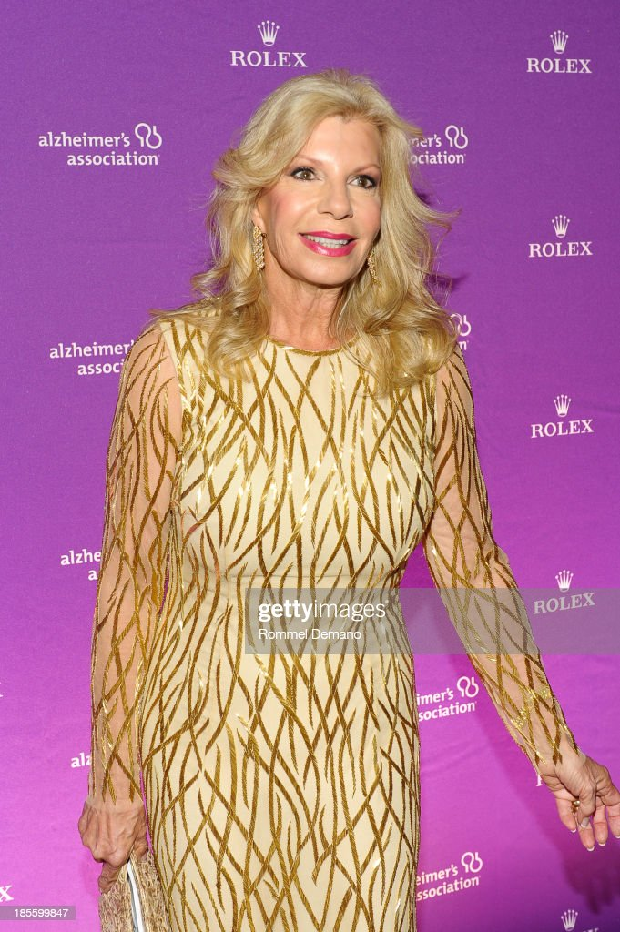Princess Yasmin Aga Khan attends 2013 Alzheimer's Association Rita Hayworth 30th Anniversary gala at The Waldorf Astoria on October 22 2013 in New...
