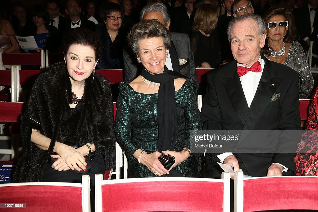 Princesse Toussoune and Prince Princesse Mourousi attend the David Khayat Association 'AVEC' Gala Dinner at Chateau de Versailles on February 4, 2013 in Versailles, France.