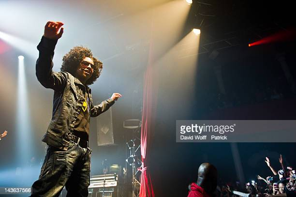 Princeton from Mindless Behavior performs at Le Bataclan on May 1 2012 in Paris France