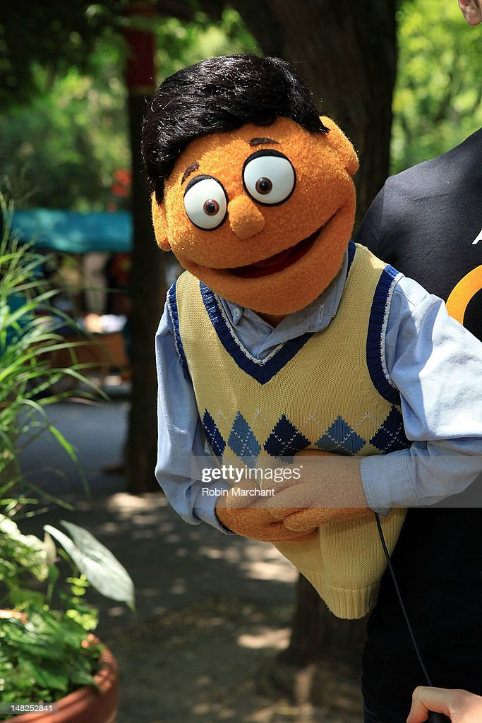 Princeton of Avenue Q visits at Bronx Zoo on July 12, 2012 in New York City.