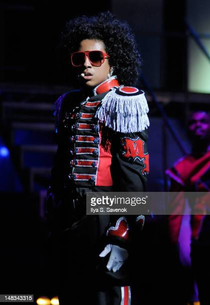 Princeton of Mindless Behavior performs at Beacon Theatre on July 14 2012 in New York City