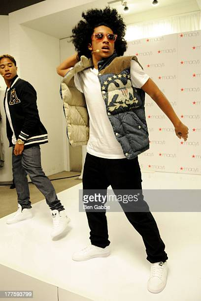 Princeton of Mindless Behavior performs at Macy's Downtown Brooklyn on August 24 2013 in the Brooklyn borough of New York City