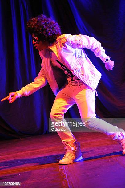 Princeton of Mindless Behavior performs on stage at Hammersmith Apollo on March 1 2011 in London England
