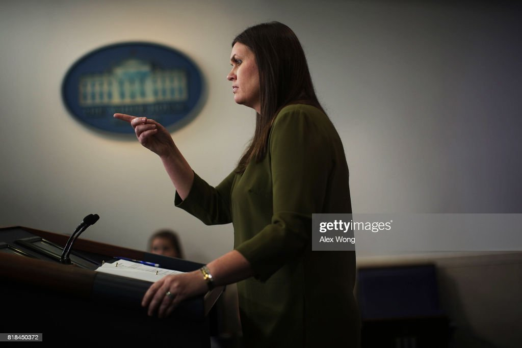 Deputy Press Secretary Sarah Sanders Holds White House Daily Press Briefing