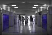 DEANGELIS_041009_CFW DEANGELIS_041009_CFW Principal Frank DeAngelis passes through the Science Wing hallway at Columbine High School Littleton CO...