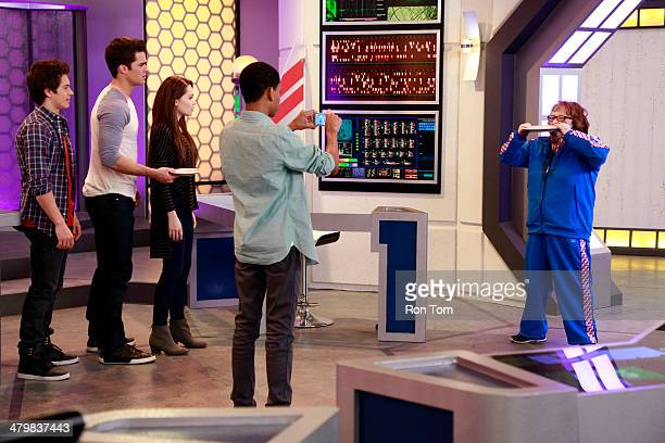 LAB RATS 'Principal from Another Planet' Leo is determined to record the bizarre events he believes take place during a lunar eclipse Davenport is...