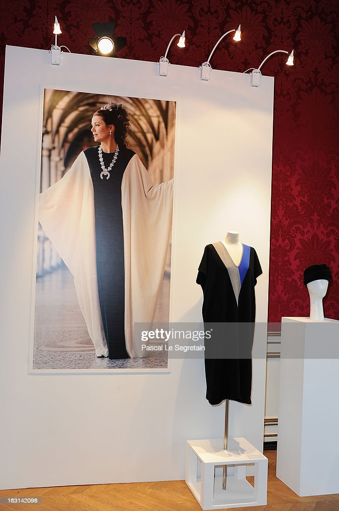 Pringle Of Scotland Archive Collection Presentation as part of Paris Fashion Week at Salon France-Ameriques on March 5, 2013 in Paris, France.