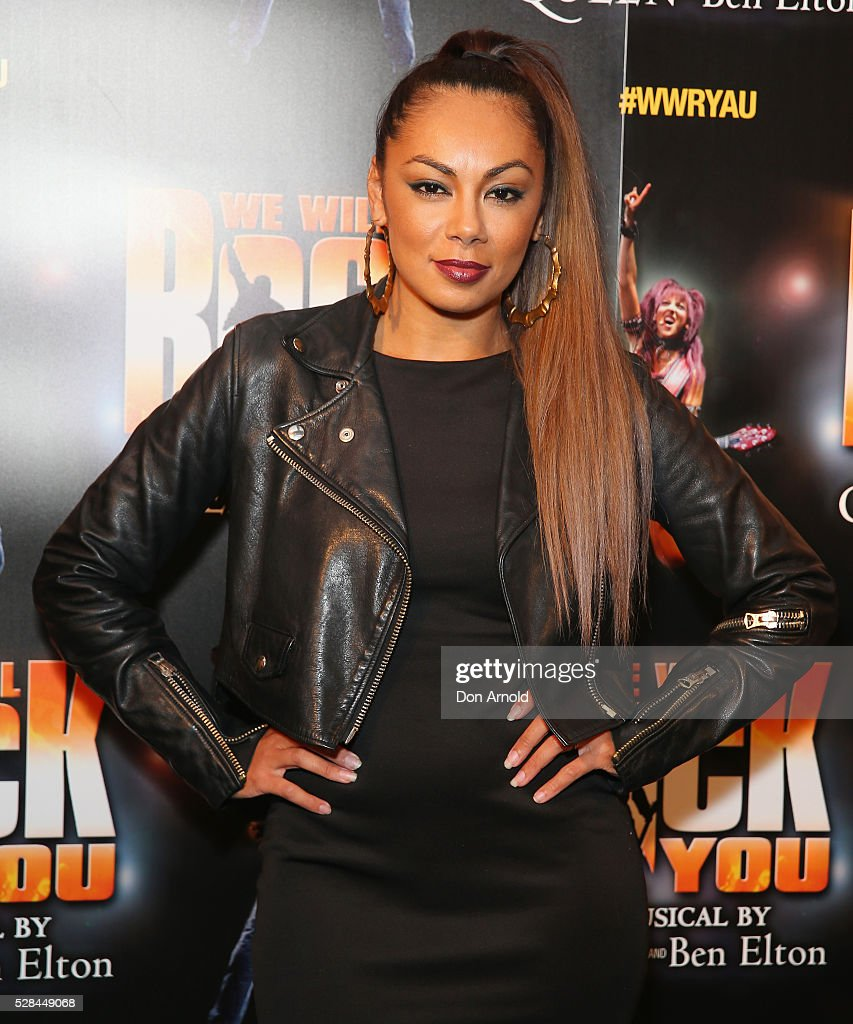 Prinnie Stevens arrives ahead of We Will Rock You Opening Night at Lyric Theatre, Star City on May 5, 2016 in Sydney, Australia.
