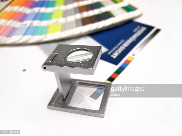 Print control process using CMYK