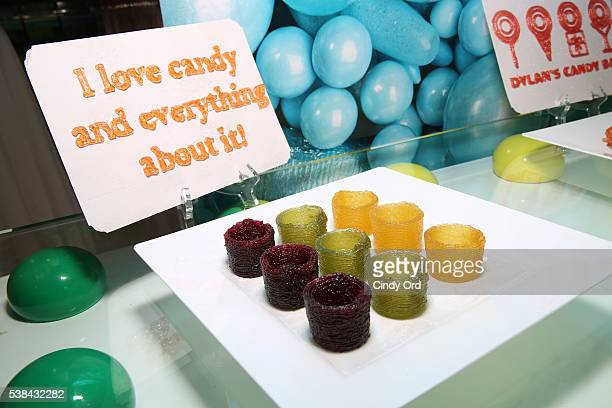 3D printed candy as seen during Dylan's Candy BarNew York City Flagship 3rd Avenue launch of 3D printed candy with Katjes Magic Candy Factory on June...