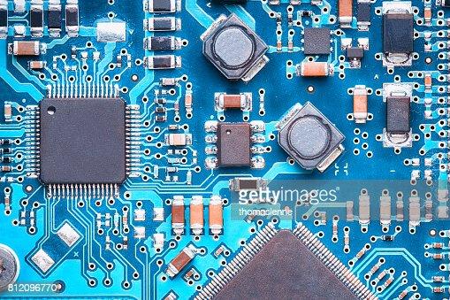 printed circuit board : Stock Photo