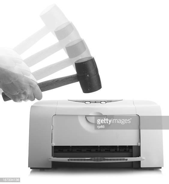 Printer Not Working Again - B+W