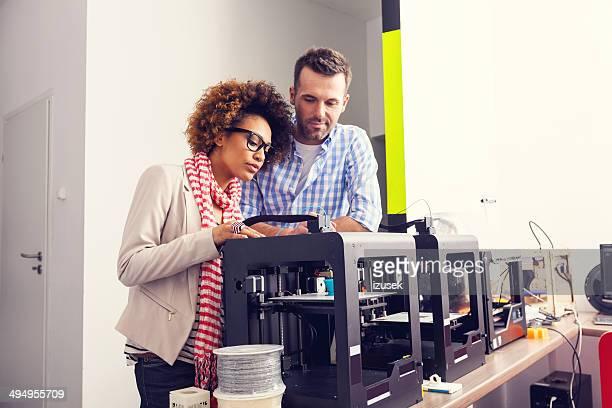 Stampante 3D in ufficio