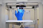 I have a 3D printer output in the form of a hand