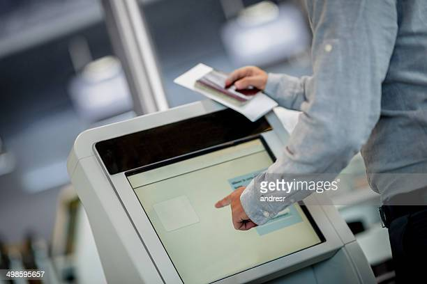 Printing boarding pass