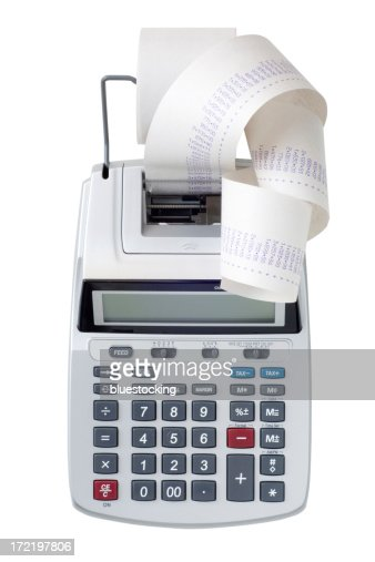 how to put tape in calculator