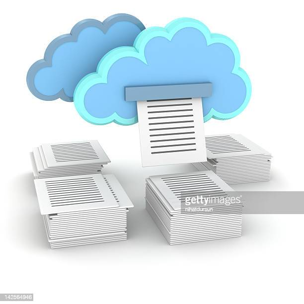 Printing documents from cloud storage