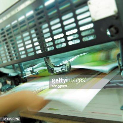 Printing press : Stock Photo