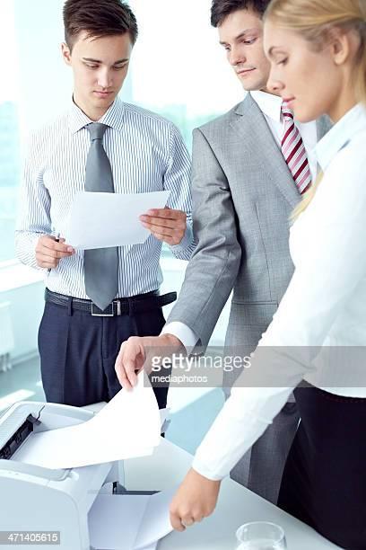Printing spreadsheet