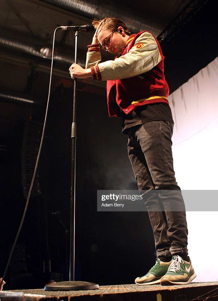 Prinz Pi performs at Columbiahalle on November 1, 2013 in Berlin, Germany.