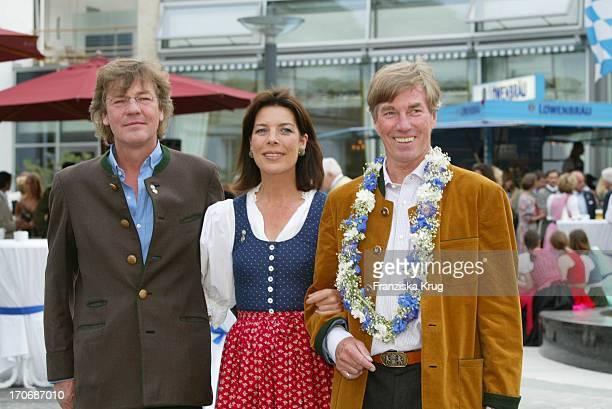 Prinzessin Caroline Und Prinz Ernst August Von Hannover Mit Prinz Leopold Von Bayern Beim Empfang Zum 60 Geburtstag Von Leopold V Bayern Im Dorint...