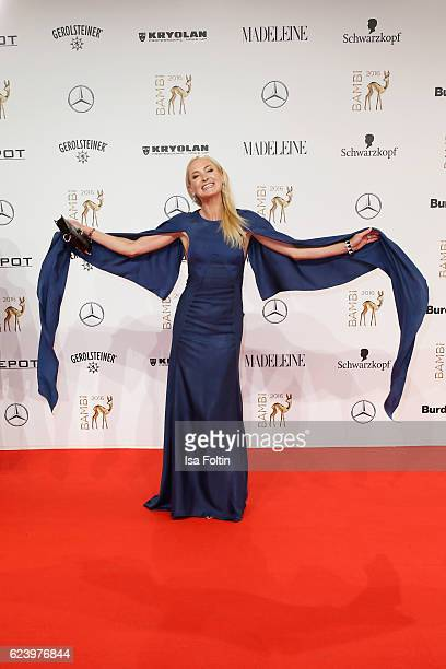 Prinzessin Lilly zu SaynWittgensteinBerleburg arrives at the Bambi Awards 2016 at Stage Theater on November 17 2016 in Berlin Germany