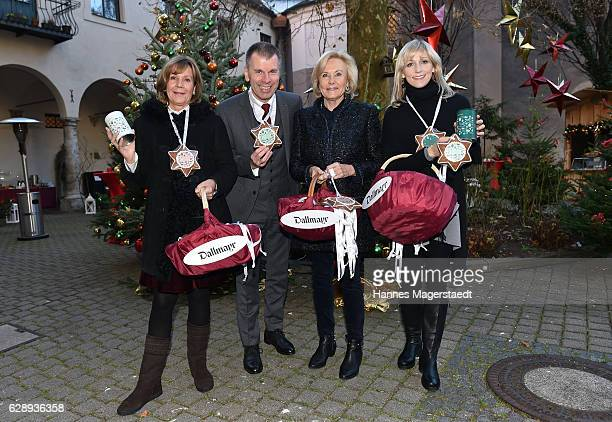 Prinzessin Ursula von Bayern Peter Mey Fuerstin Inge WredeLanz and Candy Pomp during the 21th BMW advent charity concert at Jesuitenkirche St Michael...