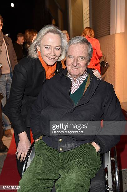 Prinzessin Uschi zu Hohenlohe and her husband Prinz Peter zu Hohenlohe during the 'Bachmayer Hitzler Rieger' Exhibition Opening at Susanne Wiebe's...