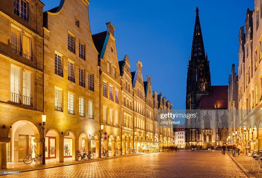 Prinzipalmarkt and St. Lambert's church