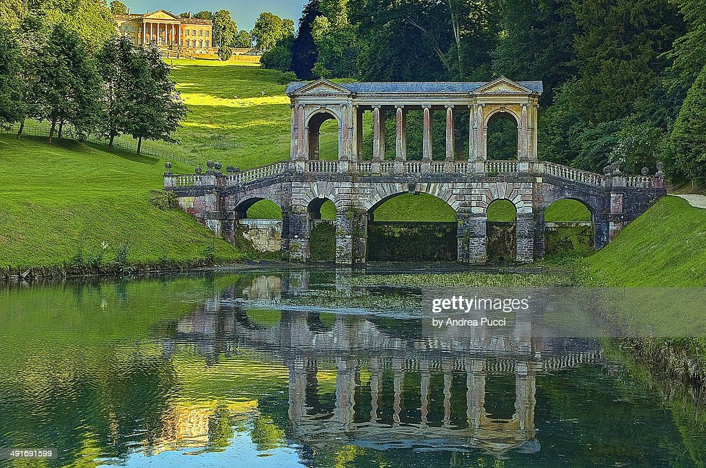 Prior Park Palladian Bridge Bath
