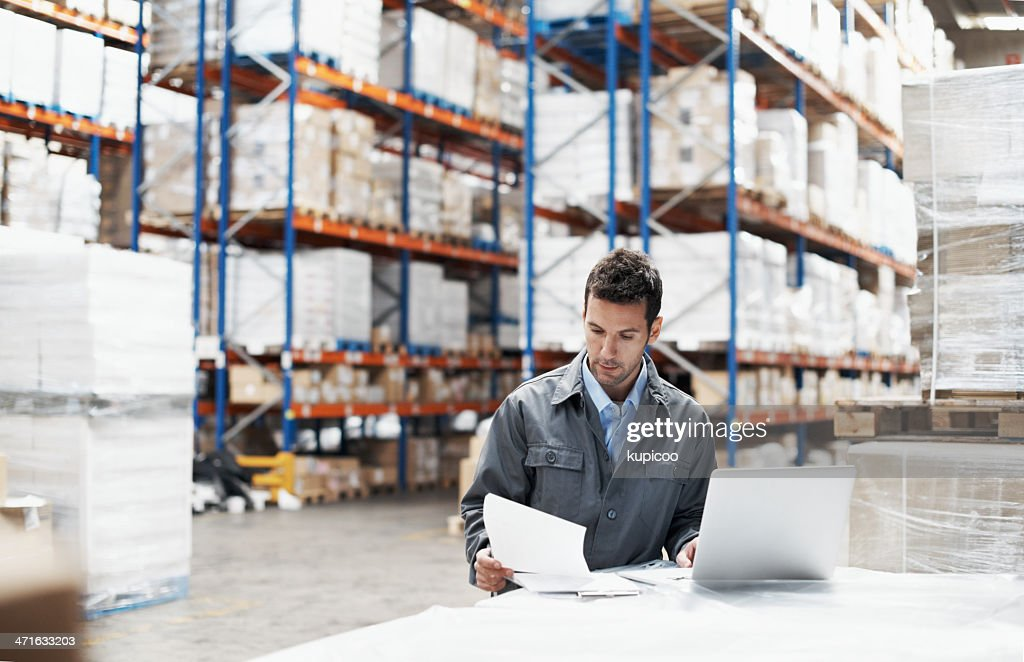 Prioridade às entregas : Foto de stock