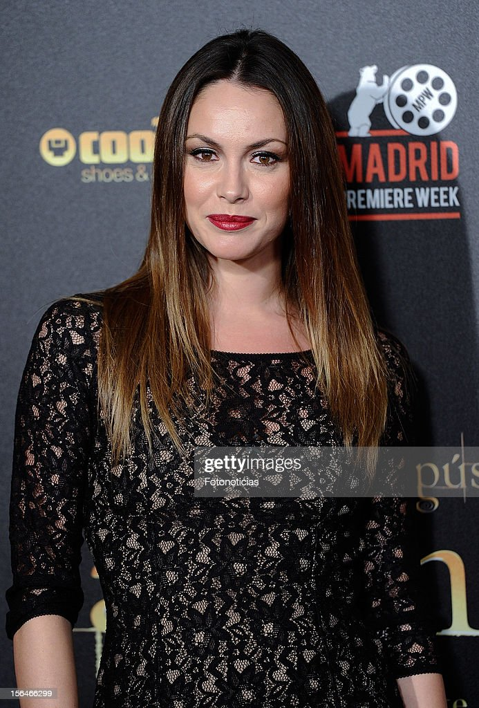 Priscila de Gustin attends the premiere of 'The Twilight Saga: Breaking Dawn - Part 2' (La Saga Crepusculo: Amanecer- Parte 2) at kinepolis Cinema on November 15, 2012 in Madrid, Spain.