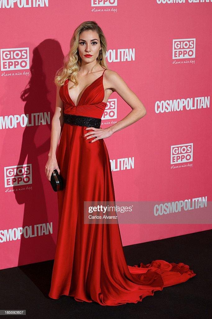 Priscila Hernandez attends the Cosmopolitan Fun Fearless Female Awards 2013 at the Ritz Hotel on October 22, 2013 in Madrid, Spain.