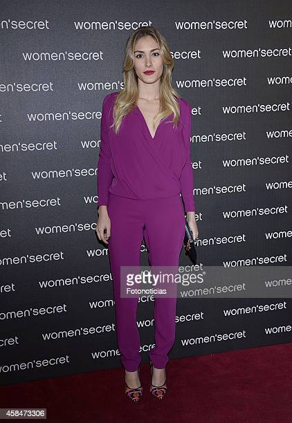 Priscila Hernandez attends the Women Secret's 'Dark Seduction' fashion film premiere at Callao Cinema on November 5 2014 in Madrid Spain