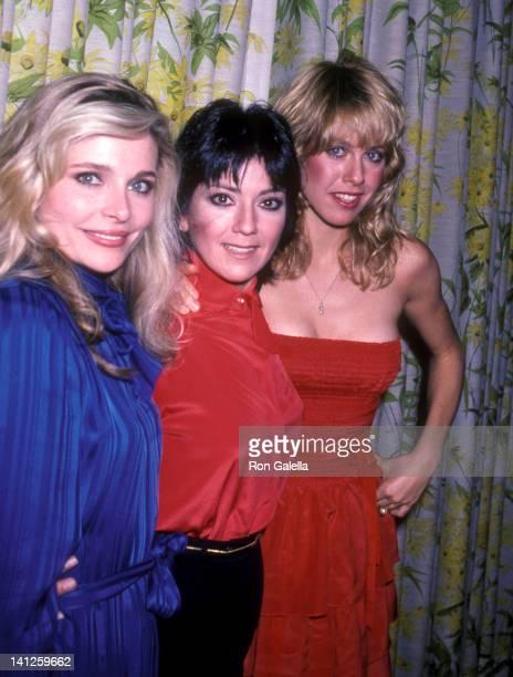 Priscilla Barnes Joyce DeWitt and Jenilee Harrison at the Three's Company Press Luncheon Beverly Hills Hotel Beverly Hills