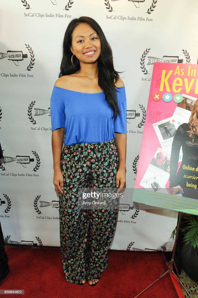 Priscilla Bawicia attends the Premiere Of 'As In Kevin' At Socal Clips Indie Film Fest on August 12, 2017 in Los Angeles, California.