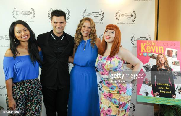 Priscilla Bawicia Kash Hovey Summer Moore and Kasia Szarek attend the Premiere Of 'As In Kevin' At Socal Clips Indie Film Fest on August 12 2017 in...