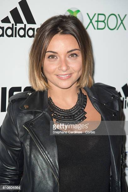 Priscilla Betti attends the Fifa 17 Xperience Party at Le Cercle Cadet on September 26 2016 in Paris France