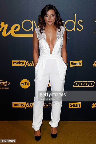 Priscilla Betti attends The Melty Future Awards 2016 Ceremony at Le Grand Rex on February 16 2016 in Paris France