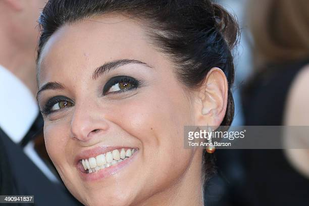 Priscilla Betti attends the 'Mr Turner' Premiere at the 67th Annual Cannes Film Festival on May 15 2014 in Cannes France