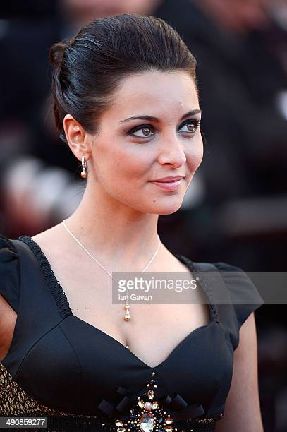 Priscilla Betti attends the 'Mr Turner' premiere during the 67th Annual Cannes Film Festival on May 15 2014 in Cannes France