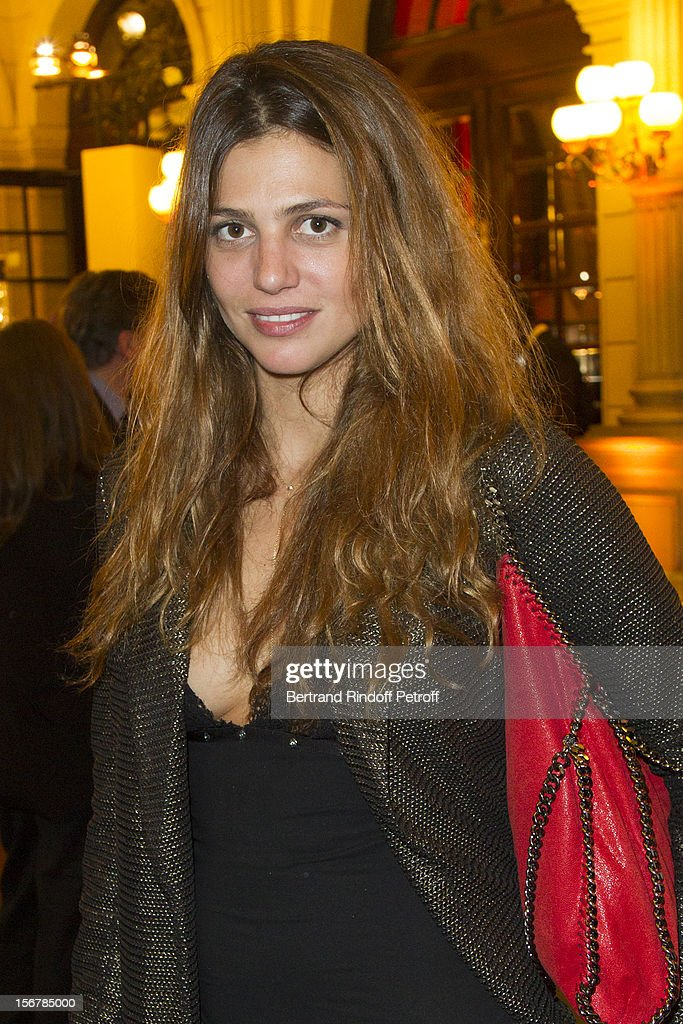 Priscilla de Laforcade attends the Grand Hotel following Jaeger-LeCoultre Vendome Boutique Opening at Jaeger-LeCoultre Boutique on November 20, 2012 in Paris, France.