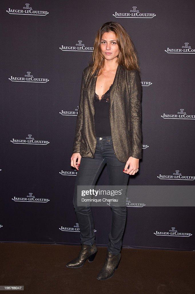 Priscilla de Laforcade attends the Jaeger-LeCoultre Place Vendome Boutique Opening at Jaeger-LeCoultre Boutique on November 20, 2012 in Paris, .