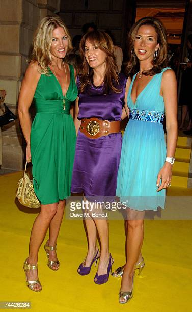 Priscilla Phillips Emily Oppenheimer and Heather Kerzner arrive at the Royal Academy Summer Exhibition at the Royal Academy of Arts on June 6 2007 in...