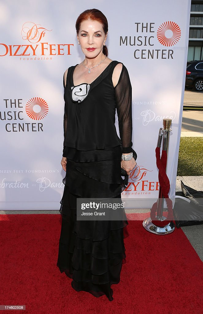 Priscilla Presley attends the Dizzy Feet Foundation Third 'Celebration of Dance' Gala at The Music Center on July 27, 2013 in Los Angeles, California.