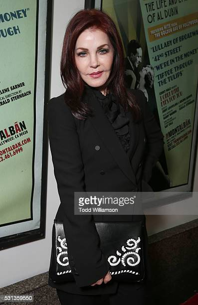 Priscilla Presley attends the opening night Of 'I Only Have Eyes For You' at The Ricardo Montalban Theatre on May 13 2016 in Hollywood California