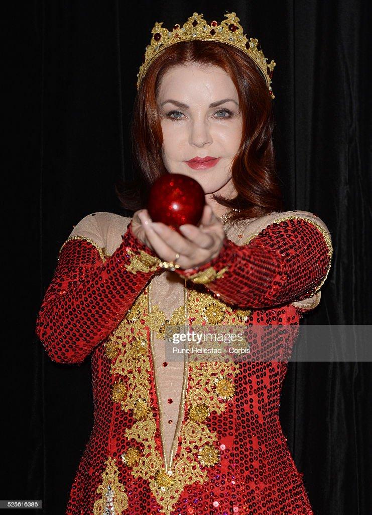 Priscilla Presley Getty Images
